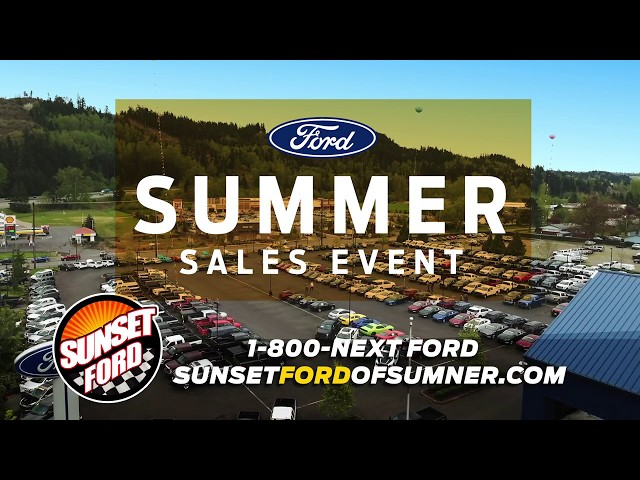 sunset ford video