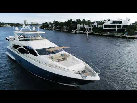 Azimut 95 Flybridge video