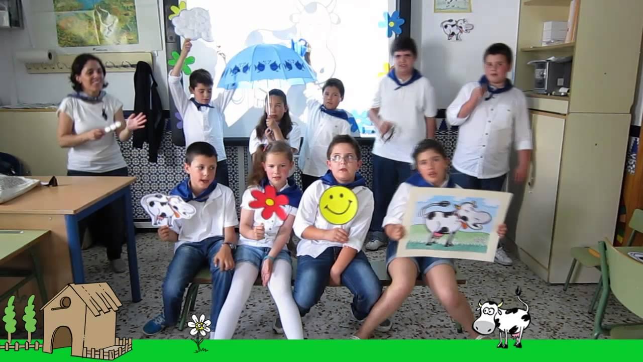 Valentina y la flor - Grupo de alumnos de 3º y 4º Primaria