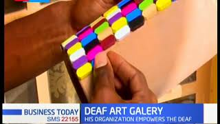 Deaf Art Gallery: Organization that trains and employs deaf artists