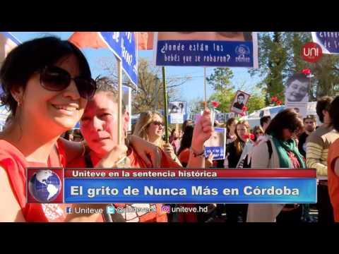 El Grito de Nunca Más en Córdoba