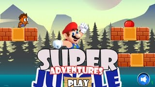 "Super Jungle Adventures ""Platformer Action Games"" Videos games for Kids - Girls - Baby Android"