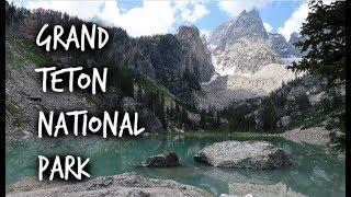 Delta Lake, Grand Teton National Park & Swimming In Jackson, Wyoming