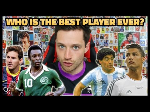 WHO IS THE BEST PLAYER EVER?! MESSI VS RONALDO VS PELÉ VS MARADONA