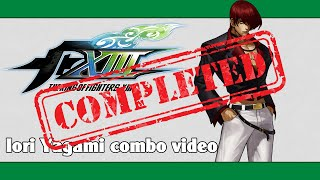 KoF XIII: Iori Yagami combo video (FINAL VERSION)