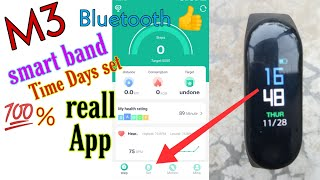 M3 smart band | intelligence Bluetooth health wrist smart | How to connect M3 smart Band with mobile