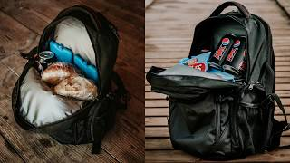 OUTXE 2 In 1 Daypack Cooler Backpack For Lunch & Laptop Carry