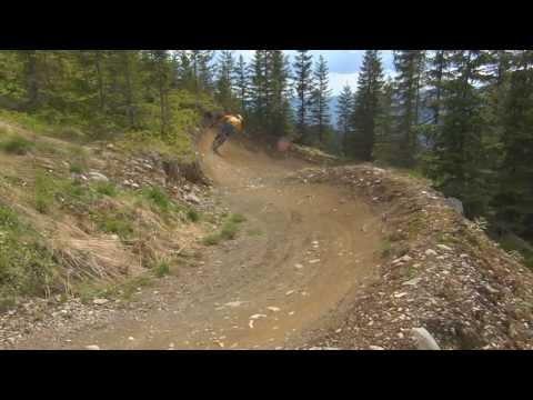 Åbning av downhill i Hafjell Bike Park