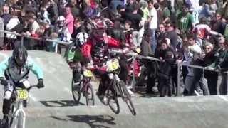 preview picture of video 'NATIONALE BMX N/O FONTENAY-LE-COMTE : COURSE DE LEONARD (BC28)'