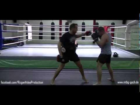Kick-Box-Pratzen-Training MTBG Goch   Wettkampfvorbereitung Fortgeschrittene   By Rizgan Video
