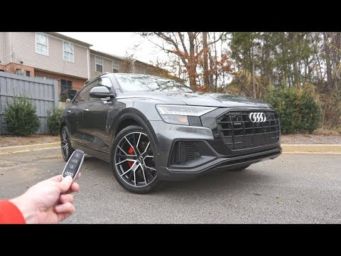 2019 Audi Q8 Year 1: Walkaround, Review And FIRST LOOK!