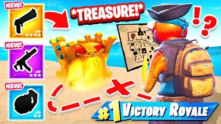 X MARKS THE SPOT Treasure HUNT!
