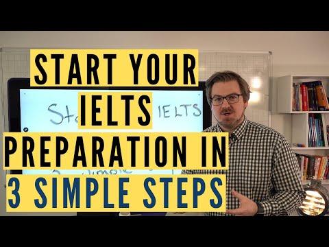 IELTS Preparation in 3 Simple Steps - YouTube