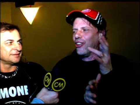 Los Violadores video 25 años con la música - Entrevista CM 2007
