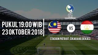 Jadwal Pertandingan Malaysia Vs Tajikistan di Piala AFC U-19, Pukul 19.00 WIB