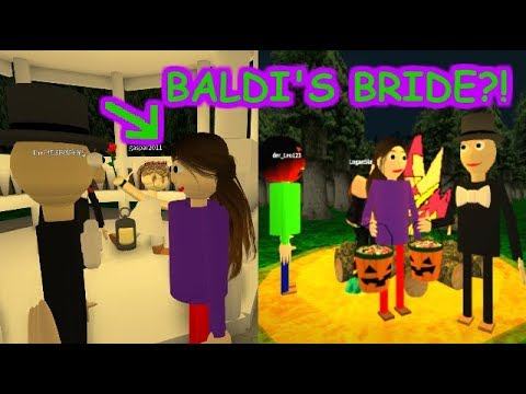 Baldis Basics 3d Morph Rp Baldis Basics In Education And Learning 3d Roblox Map 2 - Baldi Found His Special Someone The Weird Side Of Roblox