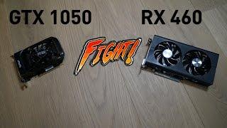 FPS Битва - GTX 1050 vs RX 460 - Сравнение в играх 1920х1080