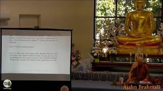 DN16: Mahaparinibbana Sutta (part 10) | Ajahn Brahmali | 9 December 2018