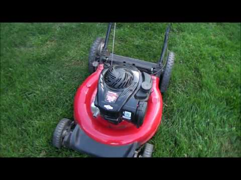 HOW TO FIX a Newer YARD MACHINES LAWNMOWER that WON'T START or RUN after STORAGE