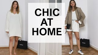 What To Wear At Home + How To Style It Up // The Geek Is Chic