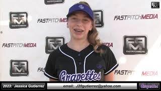 2023 Jessica Gutierrez Athletic Slapper, Outfield & First Base Softball Skills Video - Ca Grapettes