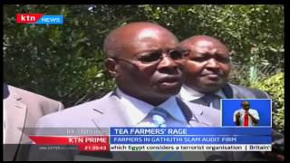 Tea farmers of Gathuthi factory demand for relieve of Njagi, Isaac and Associates audit firm
