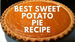 How To: Best Sweet Potato Pie Recipe | Kholo.pk
