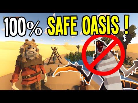 I Found a HERMIT OASIS that is 100% SEEKER SAFE!! - Desert Skies Gameplay
