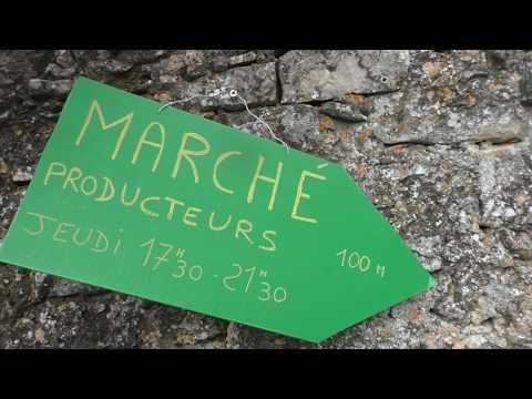Marché paysan La Couvertoirade,