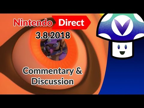 [Vinesauce] Vinny - Nintendo Direct 3.8.2018: Commentary & Discussion