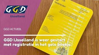 Registratie in het gele boekje   GGD Actueel   GGD IJsselland