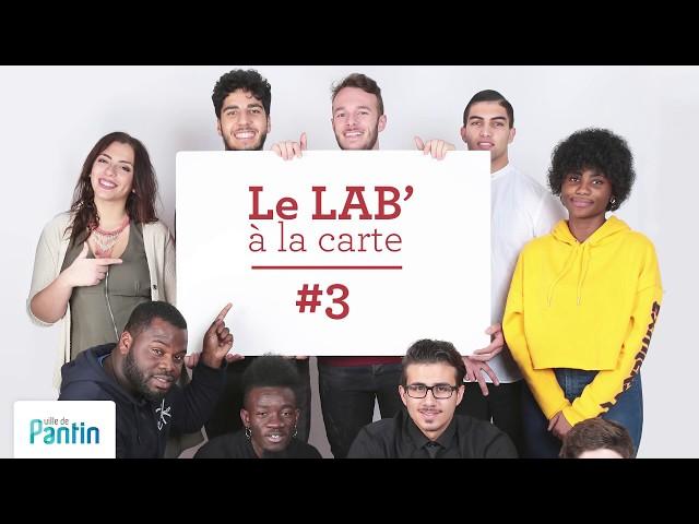 Le Lab' à la carte #3, BAFA citoyen avec Audrey et Gaetan © ville de Pantin