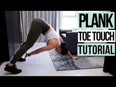 Plank Toe Touch