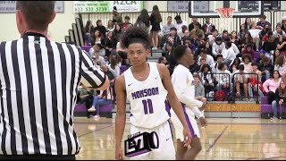 King Thurman Official Senior Year Mixtape! | The Best Undersized Player In AZ In The 2019 Class?!