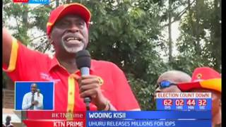 President Uhuru Kenyatta releases millions for IDPs in Kisii