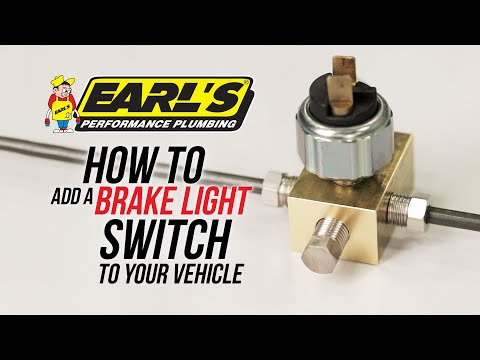 How To Add A Brake Light Switch To Your Vehicle