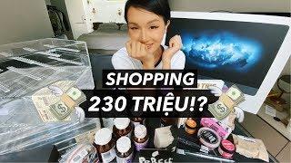 230 TRIỆU ĐI SHOPPING Ở SINGAPORE!!! | Vlog | Giang Ơi