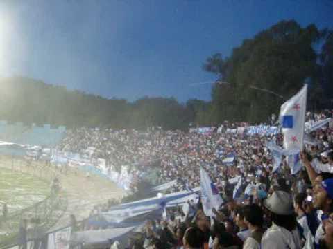 """""""Los Cruzados en el Sausalito / Cada dia te quiero mas / Play Offs Clausura 2009 / 21/11/2009"""" Barra: Los Cruzados • Club: Universidad Católica • País: Chile"""