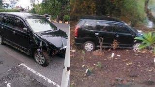 Viral Foto Mobil Avanza Masuk Makam di Pasuruan, Begini Penjelasan Polisi