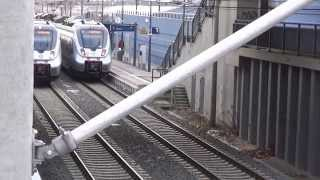 preview picture of video 'BR 442 (DB 1442 200, 1442 203 & 1442 603) S-Bahn Mitteldeutschland - Bf. Leipzig MDR'