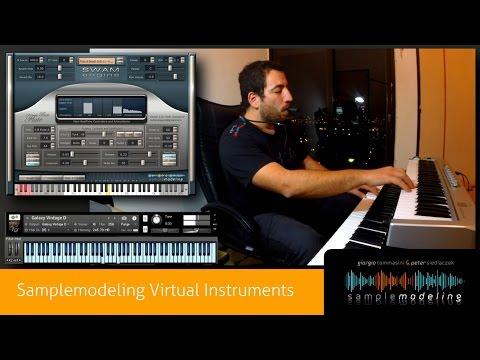Los Instrumentos Virtuales más Realistas, Tecnología de Samplemodeling