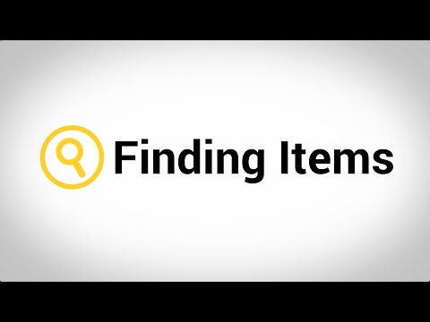 finding-items-tutorial