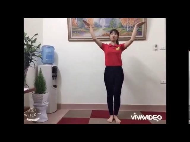 Vận động theo nhạc Hộp bút chì màu   GV Nguyễn Thị Xuân   Lớp A1