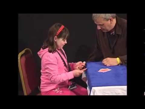 David Williamson - Spelling card trick