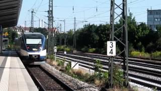 preview picture of video 'BOB-Talentzug fährt durch S-Bahnhof Heimeranplatz'