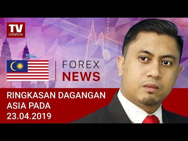 23.04.2019: JPY mendapat tempat di Asia