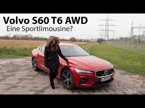 2020 Volvo S60 T6 AWD R-Design Test / Die schwedische Sport-Limousine [4K] - Autophorie