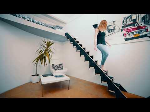 Klapster - Die klappbare Treppe