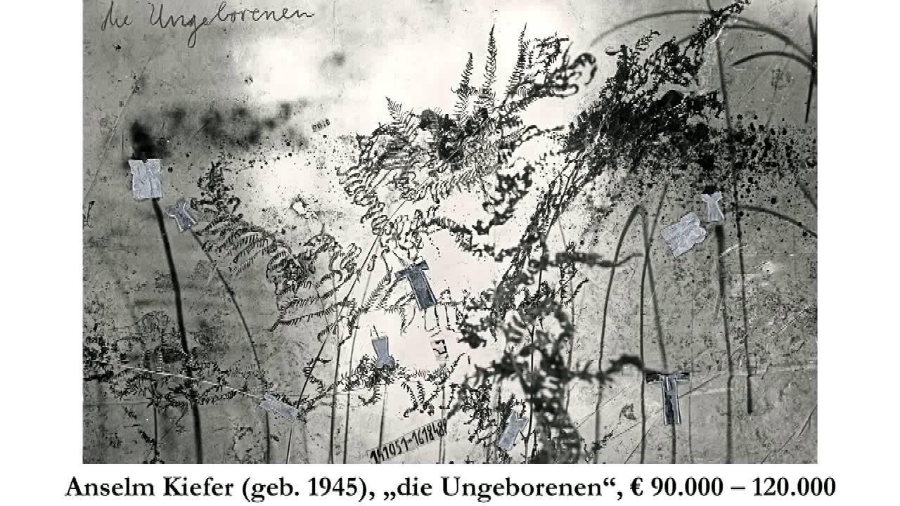Höhepunkte der Auktionen Klassische Moderne und Zeitgenössische Kunst