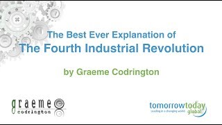 The best explanation of the Fourth Industrial Revolution ever